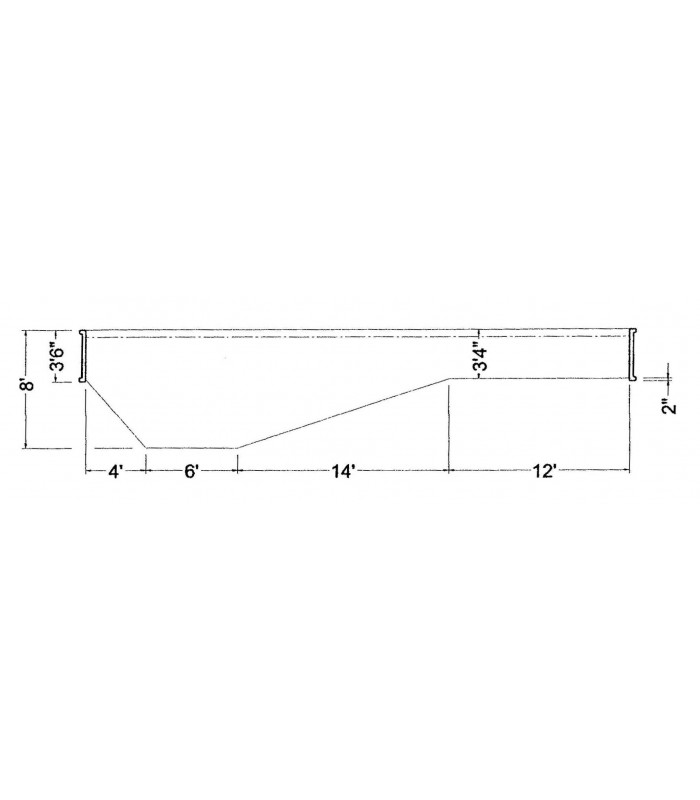 16 x 36 2 39 rectangle steel wall in ground pool kit do it - Do it yourself swimming pool kits ...