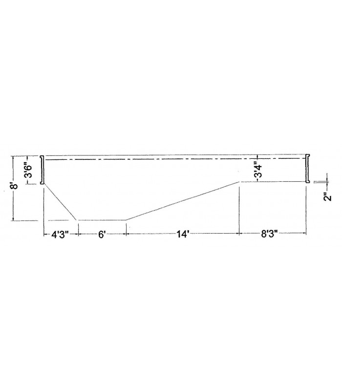 16 6 x 32 6 grecian steel wall in ground pool kit do it - Do it yourself swimming pool kits ...