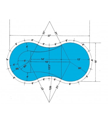 18 x 37 figure 8 steel wall in ground pool kit do it yourself solutioingenieria Images