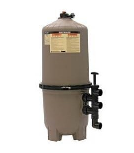 Hayward DE2420 Pro-Grid 24-SQ FT Vertical D.E. Pool Filter W/ Multiport