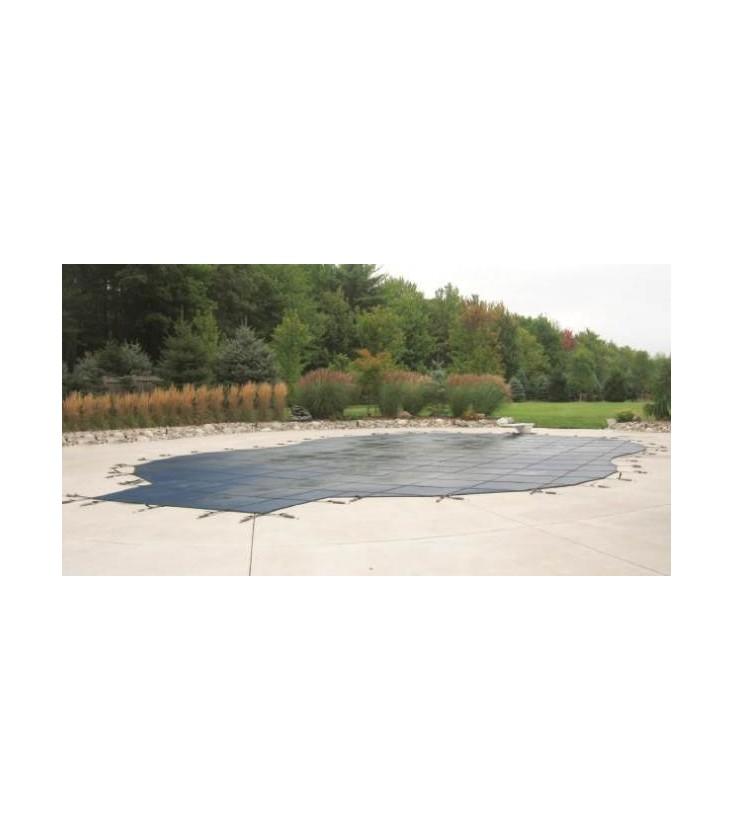 Merlin Safety Cover 16x32 Dura Mesh Inground Swimming Pool