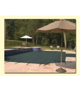 Merlin Safety Cover 20X40 w/ Step SmartMesh Inground Swimming Pool