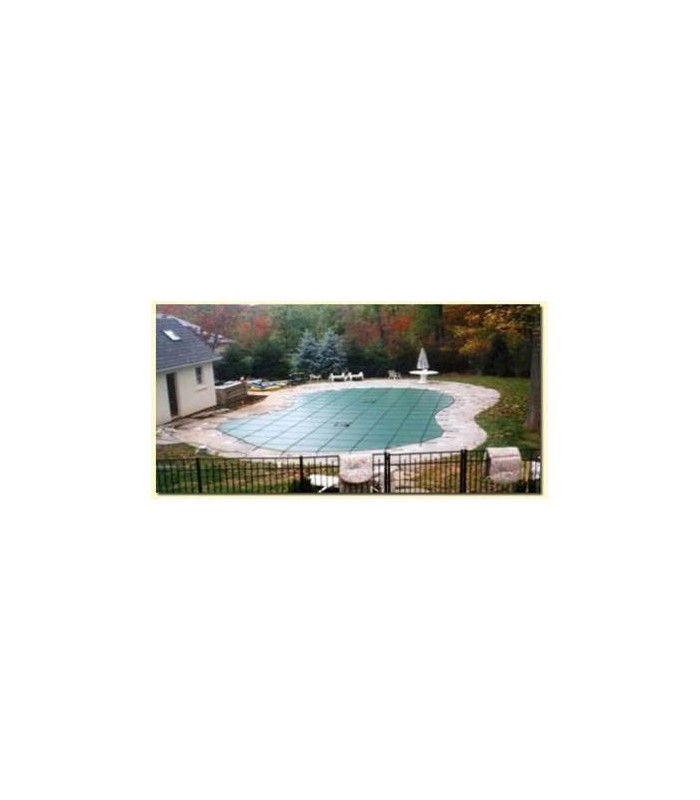 Merlin Safety Cover 20x40 Step Xls Solid Merlin Pool