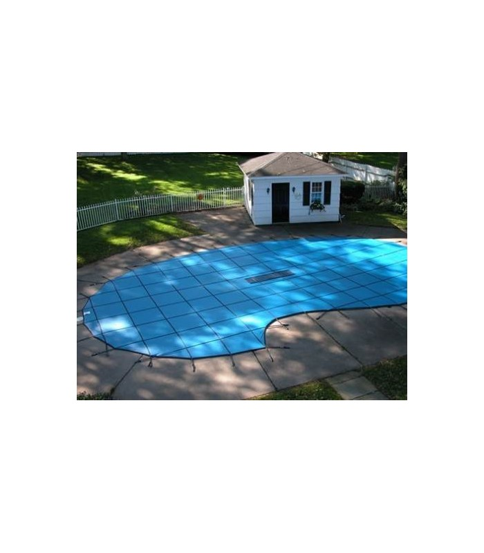Gli Swimming Pool Safety Cover 18x36 Secur Clean Gli Safety Cover