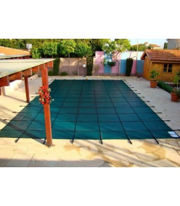 Tara 14x28 w 4x8 Step HD Heavy Duty Mesh Inground Swimming Pool Safety Cover