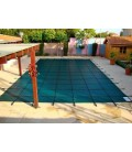 Tara 20x40 w 4X8 Step Standard Mesh Inground Swimming Pool Safety Cover