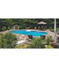 Performance Pool Products 16 X 32 Inground Vinyl Pool Liner SuperMax 27 Mil Wall 27 Mil Bottom by Latham