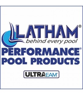Performance Pool Products Grecian 20-6 X 40-6 Inground Vinyl Pool Liner SuperMax 27 Mil Wall 27 Mil Bottom by Latham