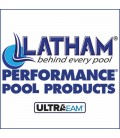 Performance Pool Products Grecian 20-9 X 39-9 Inground Vinyl Pool Liner SuperMax 27 Mil Wall 27 Mil Bottom by Latham