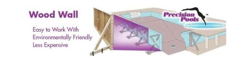 Wood Wall Pool Kits