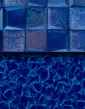 GLI Pool Products Destination Series InGround vinyl pool liners Breaking Seawall with Aquarius HD liner pattern