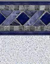 GLI Pool Products Signature Series Series InGround vinyl pool liners La Jolla with Crystal Quartz liner pattern