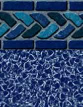 GLI Pool Products Signature Series Series InGround vinyl pool liners Los Cabos with Aquarius liner pattern