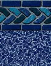 GLI Pool Products Signature Series Series InGround vinyl pool liners Los Cabos with Aquarius liner pattern