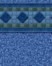 GLI Pool Products Signature Series Plus InGround vinyl pool liners Malibu with Polynesian liner pattern