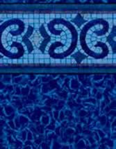 GLI Pool Products Destination Series InGround vinyl pool liners Oxford with Aquarius HD liner pattern