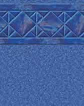 Latham Performance pool liners Aruba Wall Blue Granite Bottom liner pattern