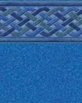 Latham Performance pool liners Bali Wall Blue Granite Bottom liner pattern