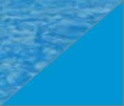 Latham Performance pool liners Blue pool liner pattern