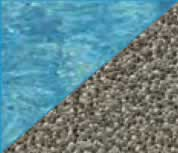 Latham Performance pool liners Gold Pebble pool liner pattern