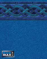 Latham Performance pool liners Indigo Marble Wall Blue Granite Bottom liner pattern