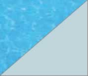 Latham Performance pool liners Light Blue pool liner pattern