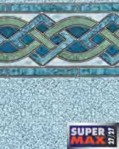 Latham Performance pool liners Marble Inlay Wall Crystal Bottom liner pattern