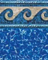 Latham Performance pool liners Pacific Tide Wall Prism Bottom liner pattern