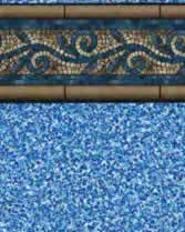 Latham Performance pool liners Princeton Wall Gemstone Bottom liner pattern