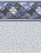 Merlin Industries best lowest price inground vinyl pool liners Caswell Beach Tile Sandy Point Bottom Liner pattern