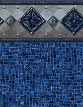 Merlin Industries vinyl pool liners Cocoa Beach Tile Miramar Bottom liner pattern