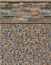 Merlin Industries vinyl pool liners Eagle Beach Tile Gold Coast Bottom liner pattern
