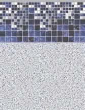 Merlin Industries best lowest price inground vinyl pool liners Gladstone Tile Sandy Point Bottom Liner pattern