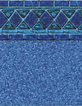 Merlin Industries vinyl pool liners Jamaica Tile Jamaica Bottom liner pattern