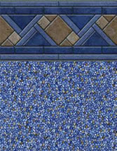 Merlin Industries vinyl pool liners Neptune Beach Tile Oceanside Bottom liner pattern