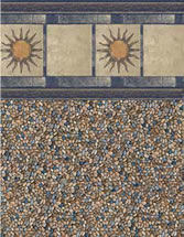 Merlin Industries vinyl pool liners San Remo Tile Gold Coast Bottom liner pattern