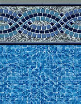 Merlin Industries vinyl pool liners Sanibel Tile Highland Beach Bottom liner pattern