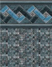Merlin Industries vinyl pool liners Silver Sands Tile Bayport Bottom liner pattern
