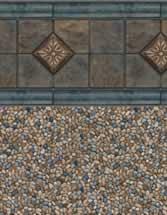 Merlin Industries Best Lowest Price Inground vinyl pool liners Crown Haven Tile Gold Coast Bottom liner pattern