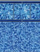 Merlin Industries Best Lowest Price Inground vinyl pool liners *Isla Vista Tile Highland Beach Bottom liner pattern
