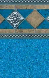 Tara Liners inground replacement vinyl swimming pool liner Cape Cod pattern