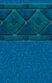 Tara Liners inground replacement vinyl swimming pool liner Destin pattern