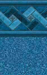Tara Liners inground replacement vinyl swimming pool liner Nassau pattern
